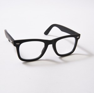 HONEY&CHRIS PC LENS ブルーライトカットめがね(MATTE BLACK/CLEAR)