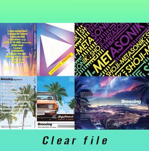 SHOJI-METASONIK クリアファイル4枚セット