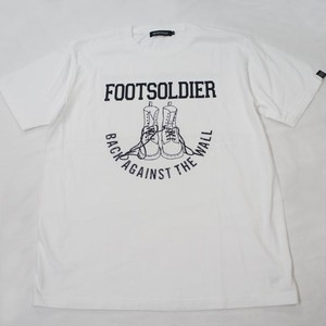 FOOTSOLDIER Tee WHITE