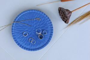 限定4点:美濃焼き 料理を鮮やかにする ダイヤ彫り高台皿