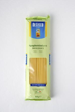ディ・チェコNo.11 スパゲッティーニ オーガニック (有機栽培パスタ)500g