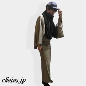 【着物&浴衣】メンズヒッコリーデニム