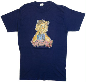 "【M】 80s T-SHIRT ""GIVE ME A BREAK!"""