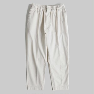 【SETTO】 DOROTHY PANTS (UNISEX) (IVO)セット イージーパンツ (ユニセックス) 日本製