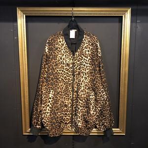 brown leopard blouson [B1658]