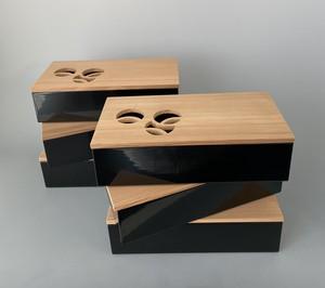 初瀬川柳庵 作 ツボツボ弁当(六) 紙箱