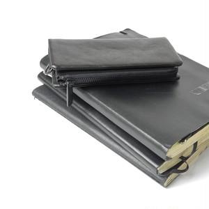 153AWA01 Leather long wallet 'minimal' shine 2 ロングウォレット