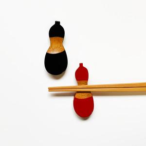 塗瓢箪箸置 k0216-218