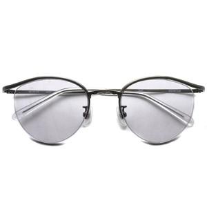 BOSTON CLUB ボストンクラブ / BART Sun / 03 Antique Silver - Light Gray Lenses アンティークシルバー-ライトグレーレンズサングラス