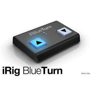 【正規輸入品】【足で簡単譜めくり】iRig BlueTurn