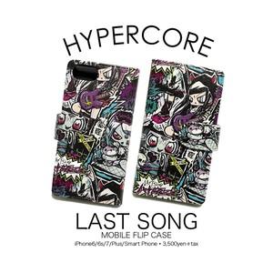 A-338 LAST SONG iPhone&スマホ手帳型ケース