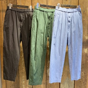08sircus / Compact lawn garment dyed pants