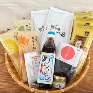 薬味香る 彩り麺セット(5500円)