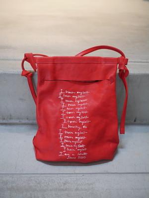 TAKAHIROMIYASHITATheSoloist. / milling bag. (RED)