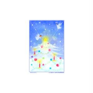 【選べるポストカード3枚セット】No.138 ホワイトツリー