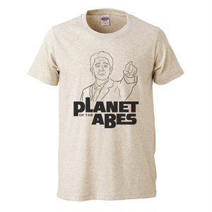 PLANET OF THE ABES プリントTシャツ