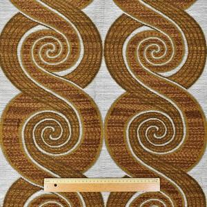織柄カーテン(横107×縦190)