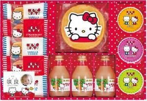 ハローキティ りんごジュース&スイーツセット KIT-30×5個