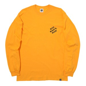 MAN'S MAN L/S TEE(YELLOW)[TH8A-002]
