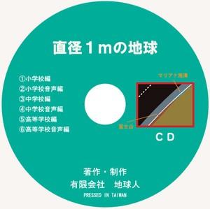 CD 直径1mの地球
