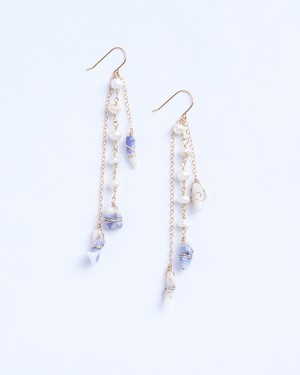 Fira / Pearl w blue purple Coral