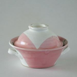 ピンクのキャセロール
