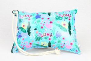 Pillow Bag (plumpillow purse)【Aloha Flamingo】まくら×ポーチ アウトドア
