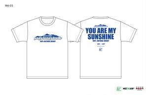 猪苗代野外音楽堂MEETAGAIN YOU ARE MY SUNSHINE Tシャツ(MA-03)