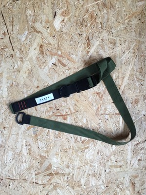 Military Long Tape Belt (Khaki)