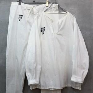 チェコ軍 スリーピングシャツ&パンツ デッドストック