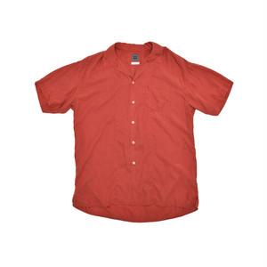 BEST PACK Open Collar S/S Shirt Red BP19S-SH02
