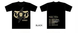 T△▽T  Tシャツ BLACK