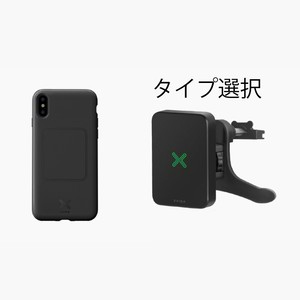 iPhone X 用 カーセット