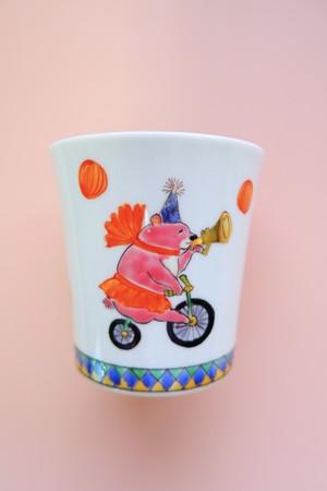 pink bear circus / cup