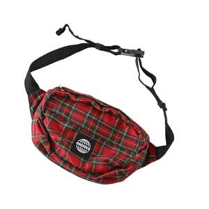 CHECKS UTILITY BAG(RED TARTAN)