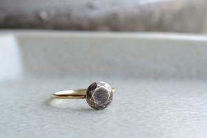 鈍色の石   (SV・K10YG・Ring)
