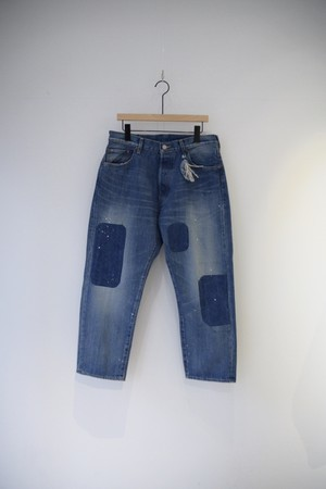 【ordinary fits】OM-P056RK 5POCKET LOOSE DENIM remake B