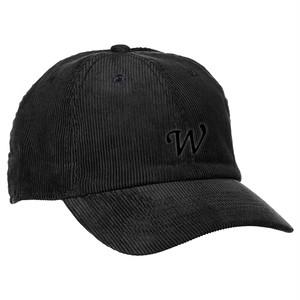 CORDUROY CAP -BK-
