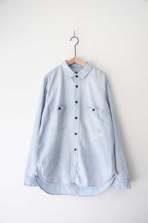 【Re:ORDINARY】CHAMBRAY WORK SHIRT 5year/S001