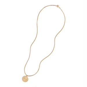 FTC / COIN NECKLACE -GOLD-
