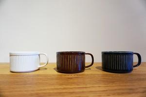Laid back ceramics - コーヒーカップ (浅型) -