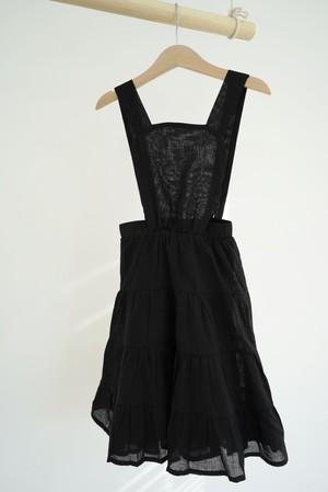 HOUSE OF PALOMA / Amélie Dress ~ Noir Cotton