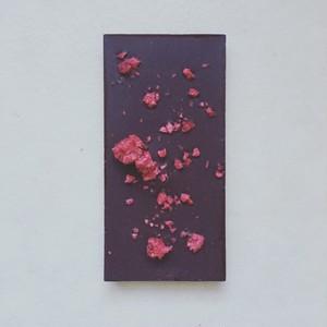 CLASSIC RASQBERRY RAW CHOCOLATE/クラシック「ラズベリー」ローチョコレート(板チョコレート)