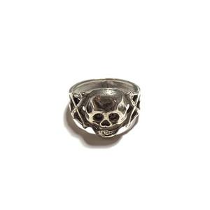Vintage/ビンテージ Skull and cross bone ring