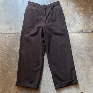 60s Wool Slacks /USA