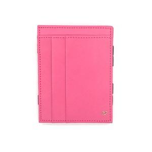 MAGIC WALLET マジックウォレット <ピンク> 革財布 サフィアノレザー