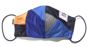 【デザイナーズマスク 吸水速乾COOLMAX使用 日本製】NFL CRAZY PATTERN SPORTS MASK CTMR 1113022