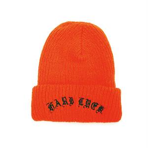 HARD LUCK - JOKER BEANIE (Orange)