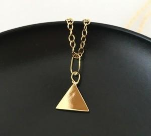 神秘三角形◇K14ゴールドペンダント
