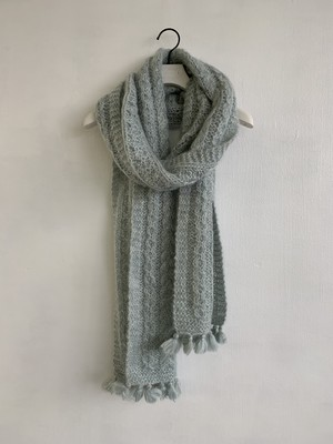 Bilitis dix-sept ans (ビリティス・ディセッタン)    Hand Knit Mohair Stolle